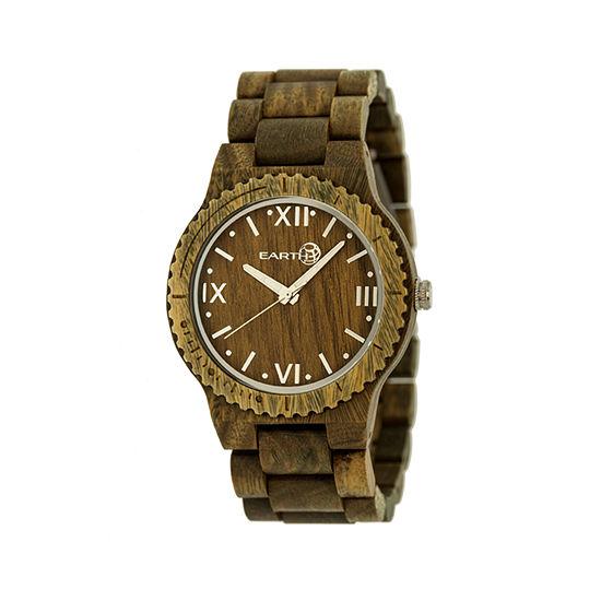 Earth Wood Bighorn Olive Bracelet Watch ETHEW3504