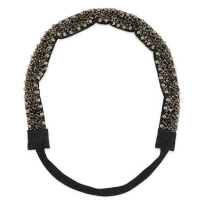 Mixit™ Fishnet Ribbon Simulated Pearl Headband