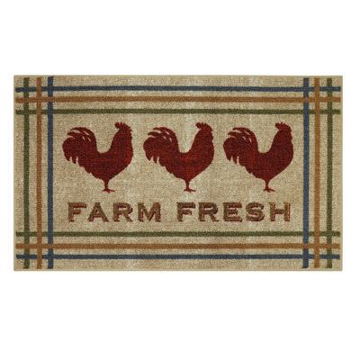 JCPenney Home™ Farm Fresh Rooster Rectangular Rug