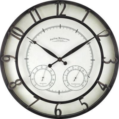 FirsTime® Park Indoor/Outdoor Wall Clock