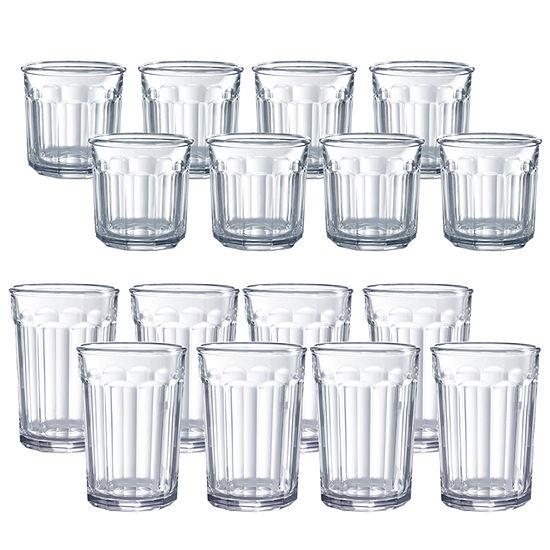 Luminarc Working Glass 16 Pc Glassware Set