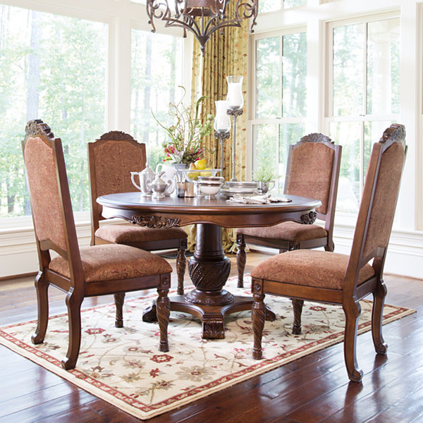 Signature Design by Ashley® North Shore Pedestal Table
