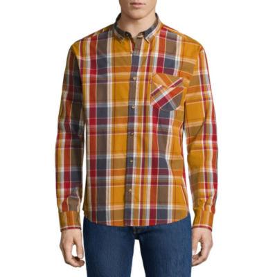 Levi's® Gridwood Long Sleeve Woven