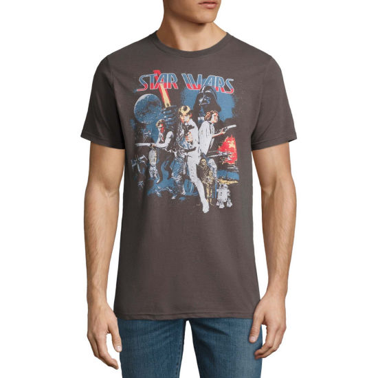 Star Wars Old School Group Shot Tee