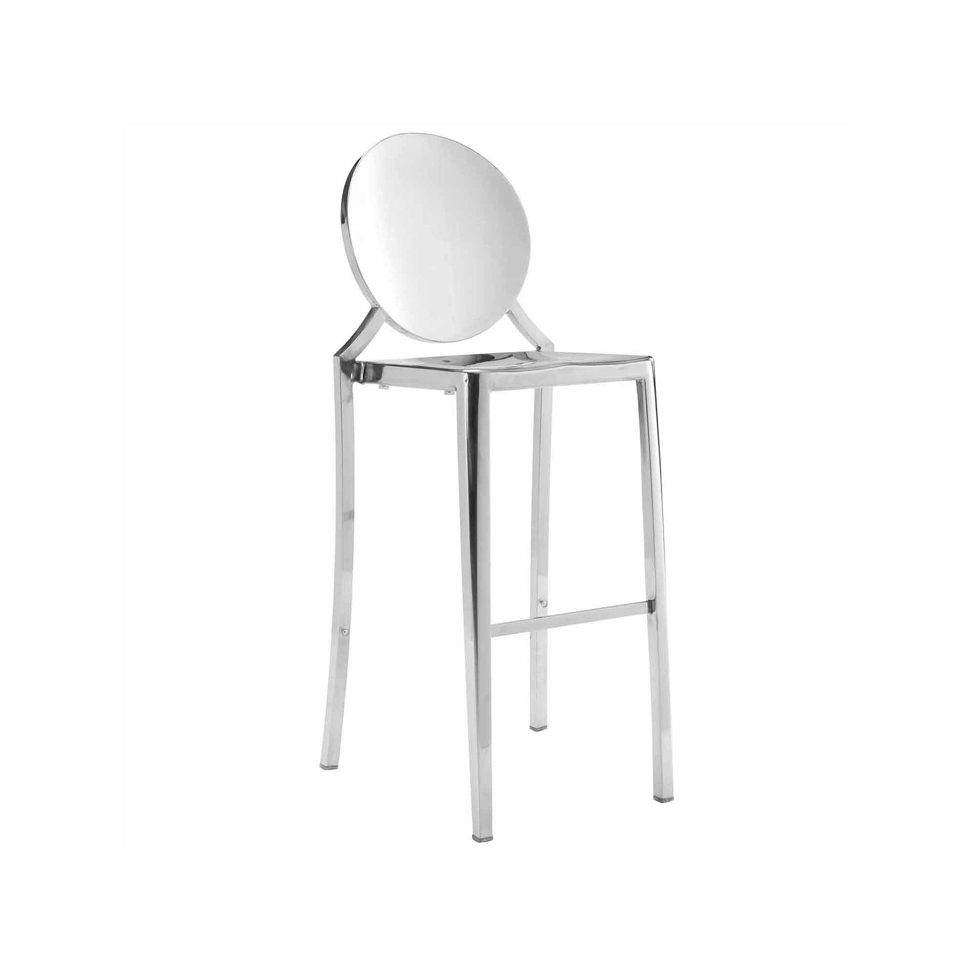 Zuo Modern 2-pc. Eclipse Barstool Set