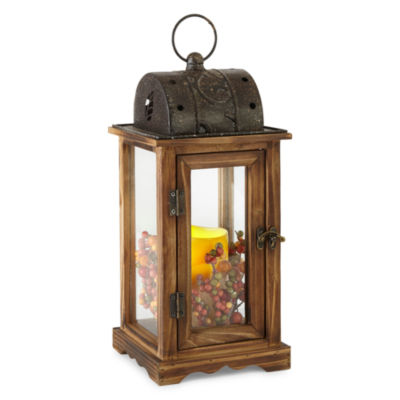 JCPenney Home™ Wood LED Lantern