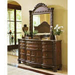 Signature Design by Ashley® North Shore Dresser and  Mirror
