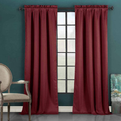 Duck River Liam Thermal Blackout Rod-Pocket Curtain Panel