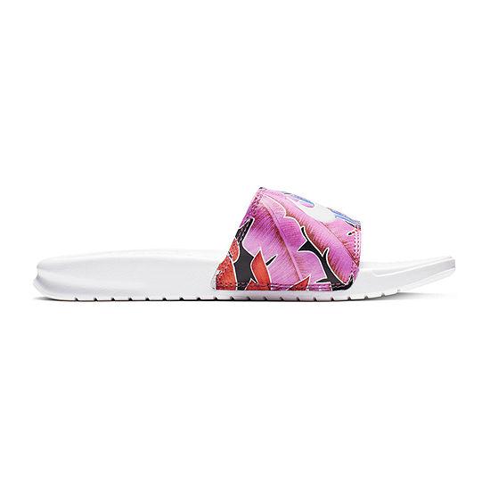 Nike Womens Benassi Print Slide Sandals
