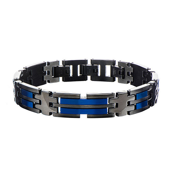 Stainless Steel 8 1/2 Inch Curb Link Bracelet