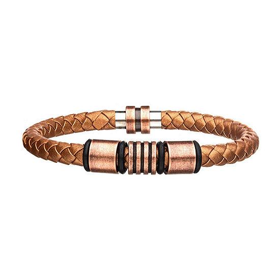 Stainless Steel Beaded Bracelet