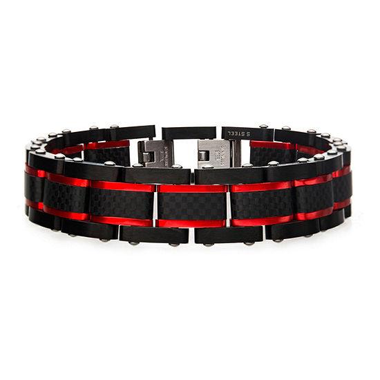 Stainless Steel 9 1/4 Inch Link Link Bracelet