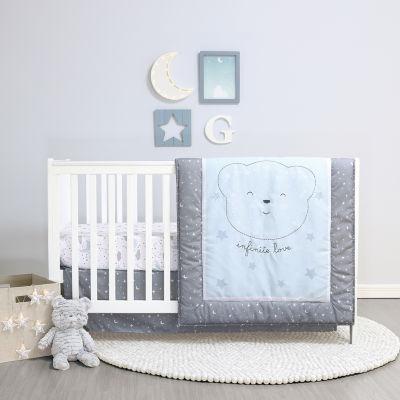 Belle Infinite Love 4-pc. Crib Bedding Set