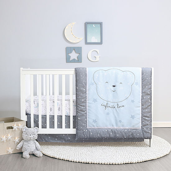 Belle Infinite Love 4-pc. Crib Bedding Set