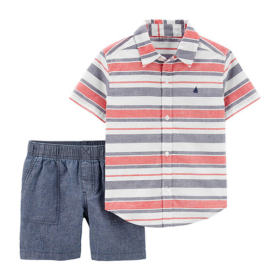 Carter's Boys 2-pc. Short Set Toddler