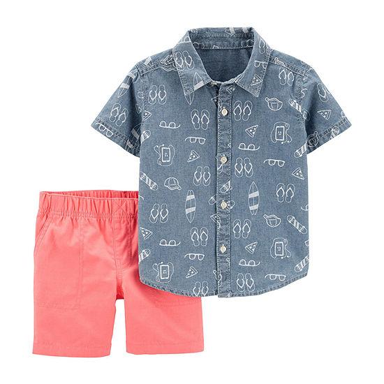 Carter's 2-pc. Short Set Toddler Boys