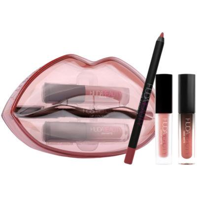 HUDA BEAUTY Demi Matte & Cream Lip Set