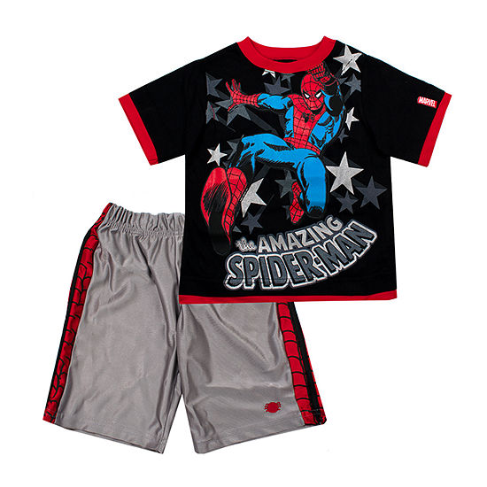 Boys 2-pc. Marvel Short Set Toddler