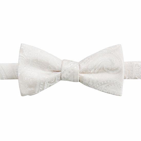 JF J.Ferrar Paisley Bow Tie
