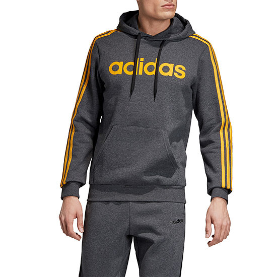 adidas-Athletic Mens Long Sleeve Hoodie