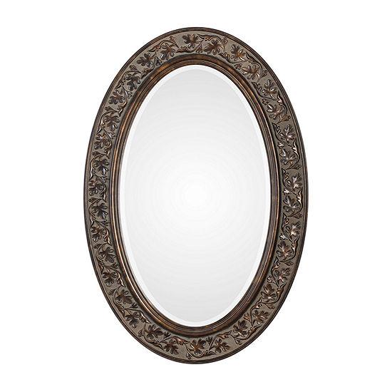 Opal Oval Wall Mirror