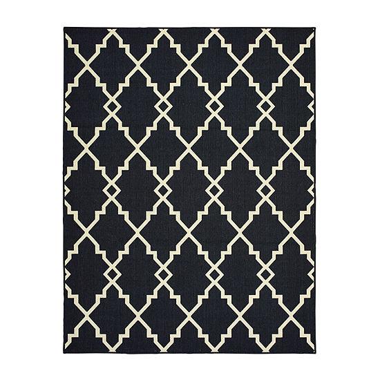 Covington Home Marissa Interlace Rectangular Indoor Outdoor Rugs