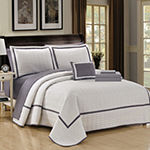 Chic Home Mesa Embroidered Quilt Set