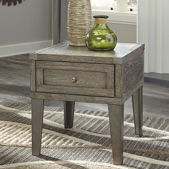 Signature Design by Ashley® Chazney 1-Drawer Storage End Table