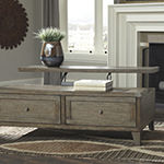 Signature Design by Ashley® Chazney 2-Drawer Lift-Top Coffee Table