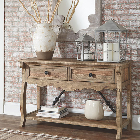 Signature Design by Ashley® Dazzelton 2-Drawer Console Table