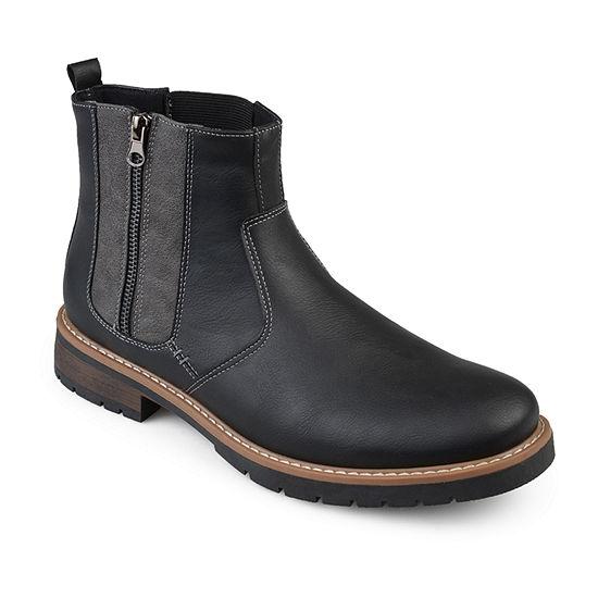 Vance Co Mens Pratt Chelsea Boots