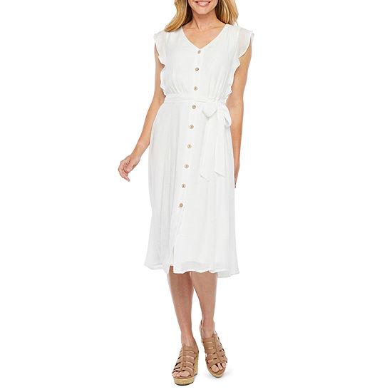 Alyx Cap Sleeve Shirt Dress Sleeve
