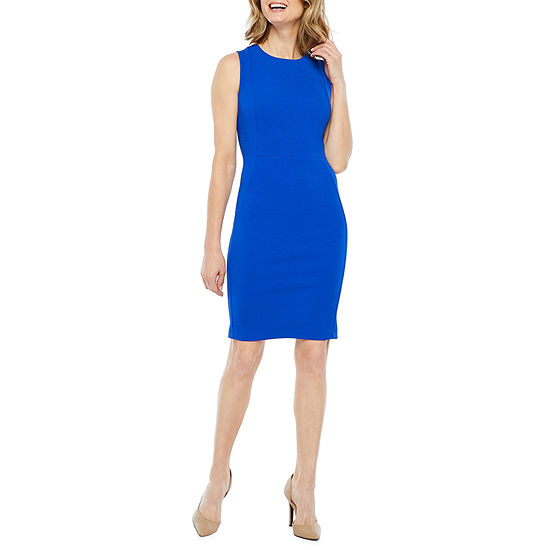 Liz Claiborne Sleeveless Sheath Dress