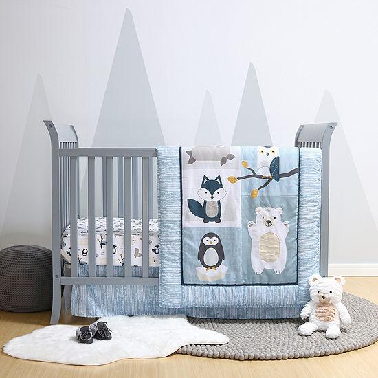 Belle Nordic Wonder 4-pc. Crib Bedding Set