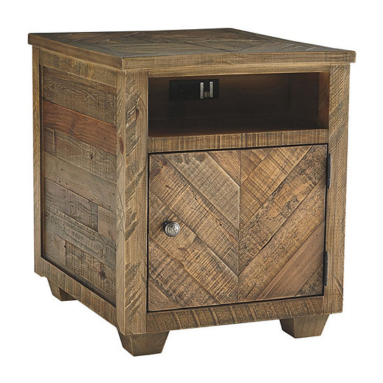 Signature Design by Ashley® Grindleburg Storage End Table