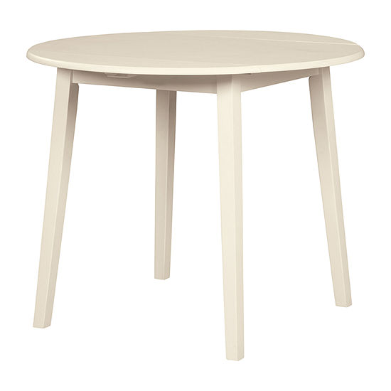 Signature Design by Ashley® Slannery Round Wood-Top Dining Table