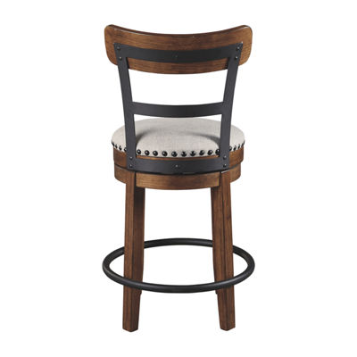 Signature Design by Ashley Valebeck Swivel Bar Stool