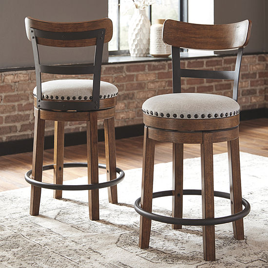 Signature Design by Ashley® Valebeck Swivel Bar Stool