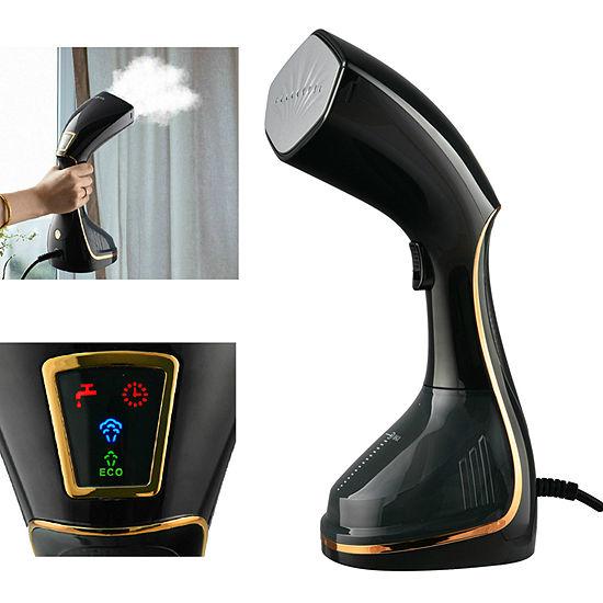 True & Tidy HS-46 Power Steam Press PLUS Handheld Steamer w/ LCD Screen