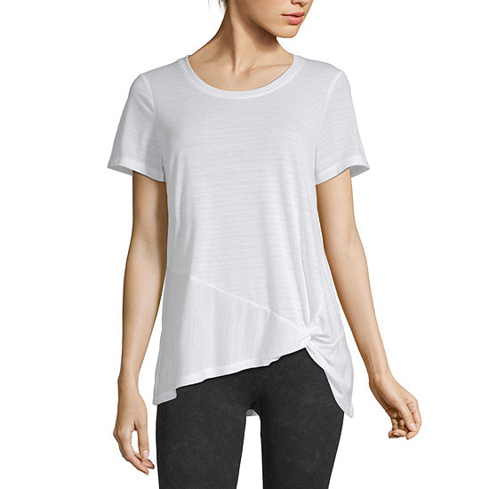 Xersion-Womens Side Knot Tee
