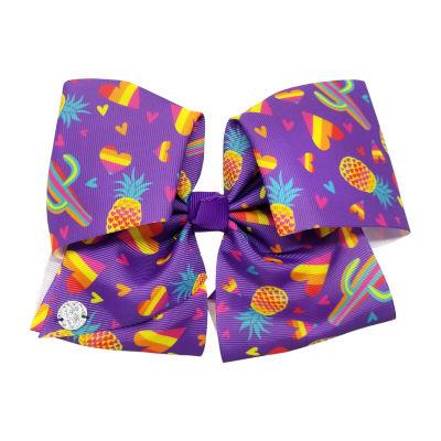 JoJo Siwa Purple Bow With Candy Print