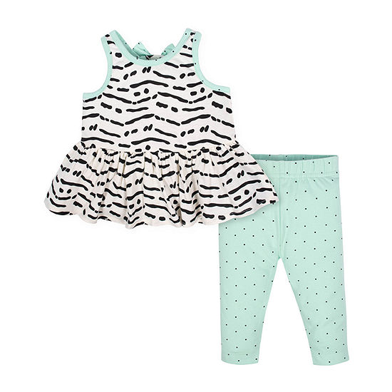 Gerber-Baby Girls 2-pc. Legging Set