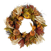 Deals on Jcp 22in Harvest Wreath
