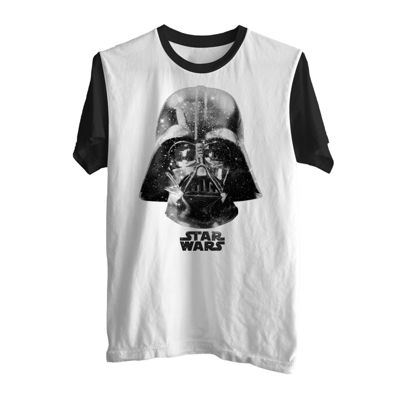 Star Wars Darth Vadar Space Face Graphic Tee