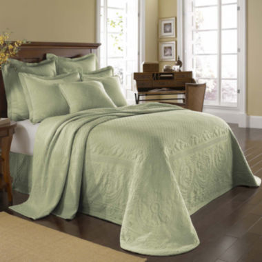 jcpenney.com | Historic Charleston Collection™ King Charles Matelassé Bedspread & Accessories