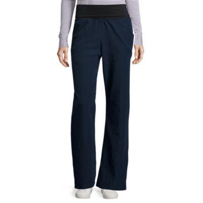WonderWink® Four-Stretch 5514 Womens Foldover Knit Waist Pants - Plus