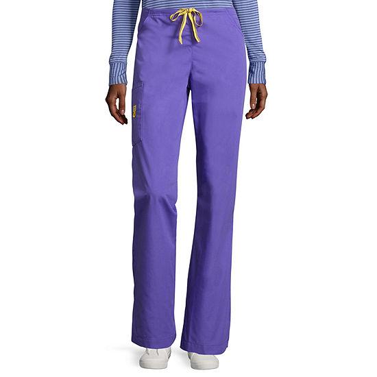 WonderWink® Origins 5026 Romeo Womens 6-Pocket Flare-Leg Pants - Tall - Plus & Plus Tall