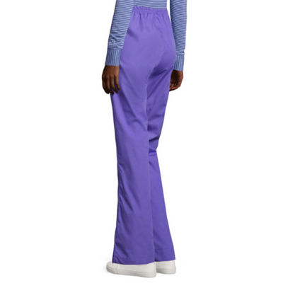 WonderWink® Origins 5026 Romeo Womens 6-Pocket Flare-Leg Pants - Petite & Petite Plus