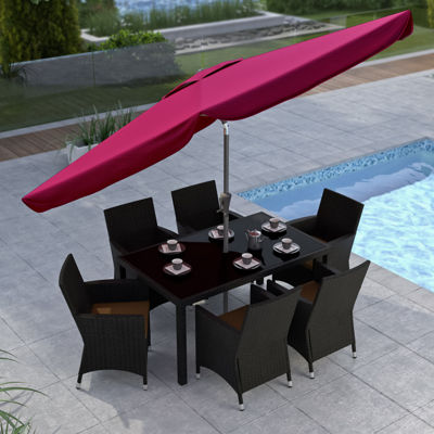 "117"" Tilting Patio Umbrella"