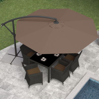 "115"" Offset Patio Umbrella"